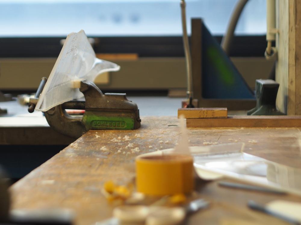 Werkstatt f r modellbau und m beltechniken kunststoff for Fh stuttgart architektur