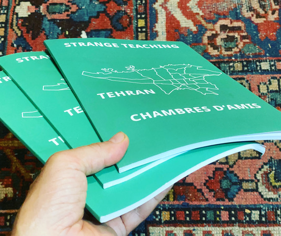 Strange Teaching Tehran – Chambres d'amis cover